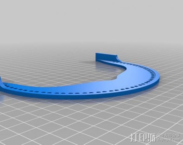 《星际迷航》Geordi Laforge护具 3D模型  图3