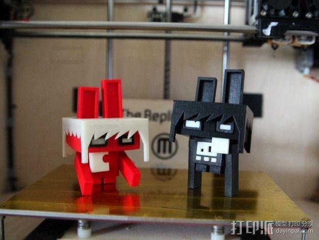 Megabite机器人 3D模型  图1