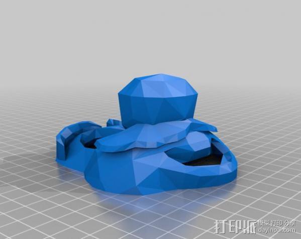 管道工 面具 3D模型  图3