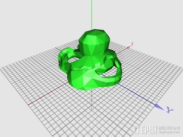 管道工 面具 3D模型  图2