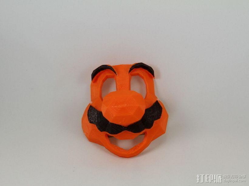 管道工 面具 3D模型  图8