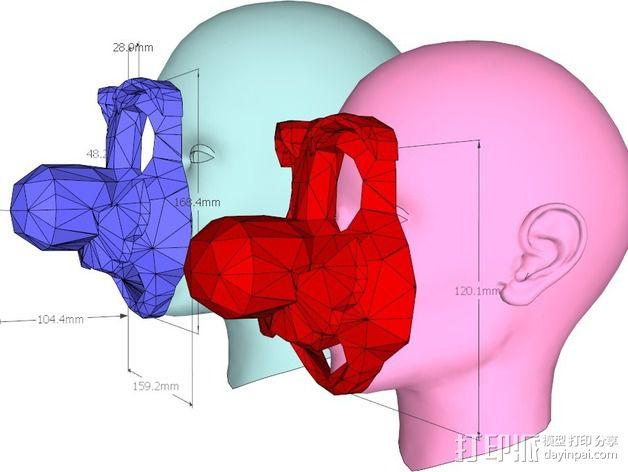 管道工 面具 3D模型  图11