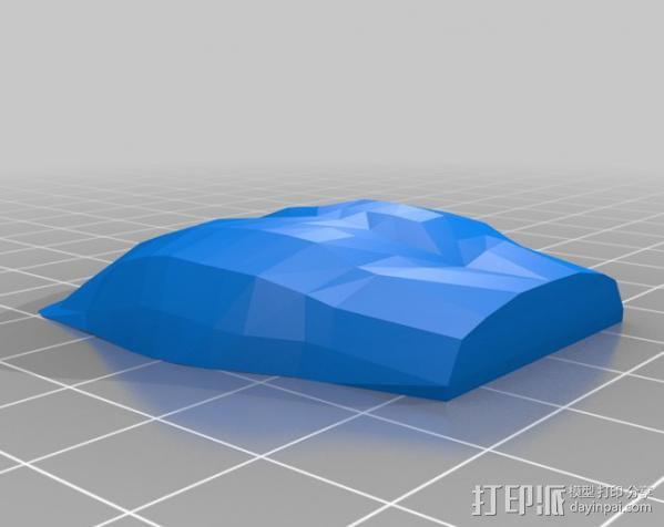 杜尔迦  玩偶 3D模型  图3