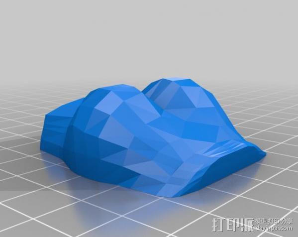 杜尔迦  玩偶 3D模型  图2