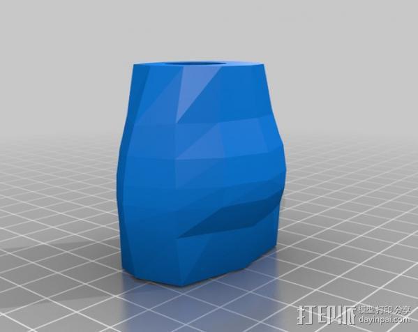 杜尔迦  玩偶 3D模型  图4