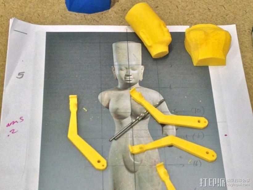 杜尔迦  玩偶 3D模型  图13