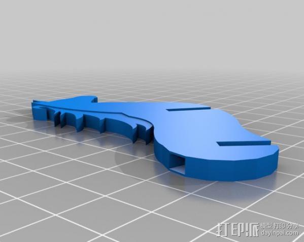 独角兽 3D模型  图5