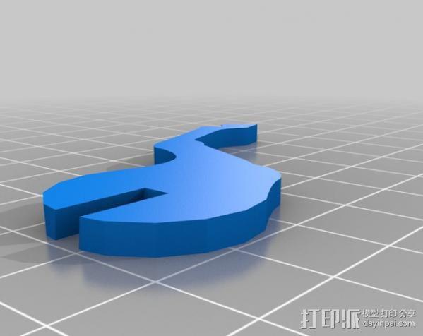 独角兽 3D模型  图7