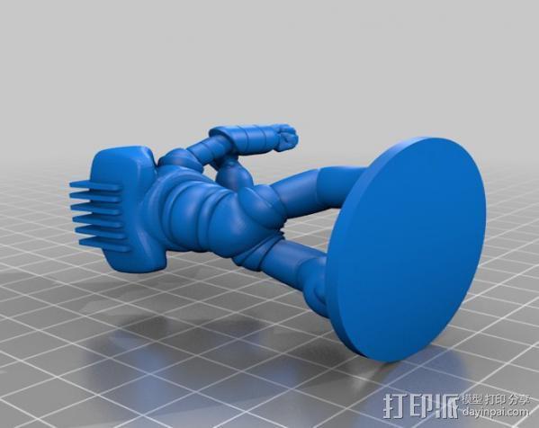战斗兵团 3D模型  图1