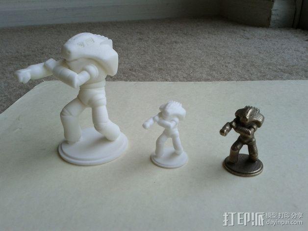 战斗兵团 3D模型  图5