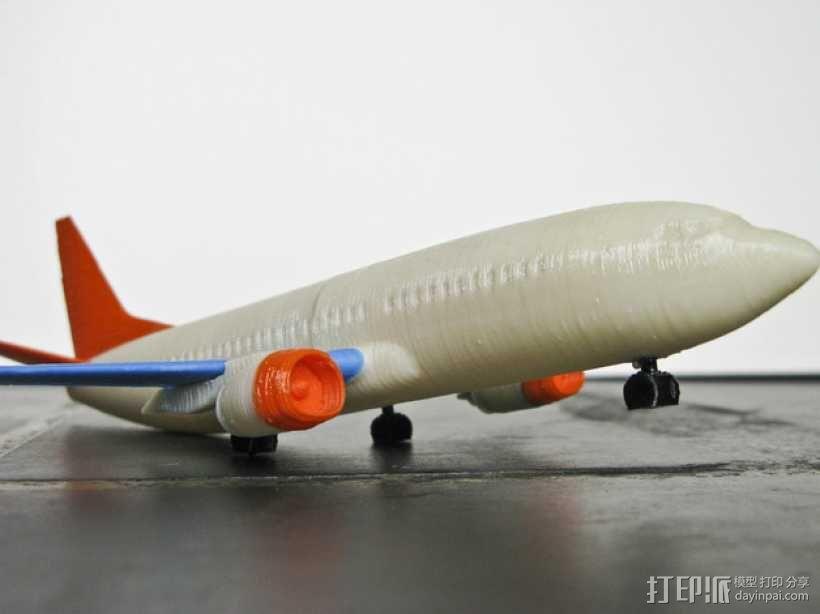 波音飞机737 - 300 3D模型  图10