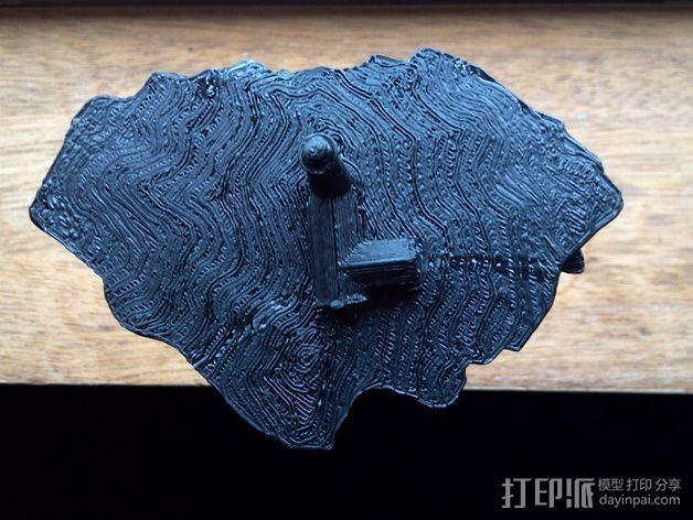 漂浮的灯塔岛  3D模型  图5