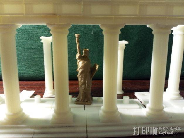 多立克柱式 希腊罗马神殿 3D模型  图5