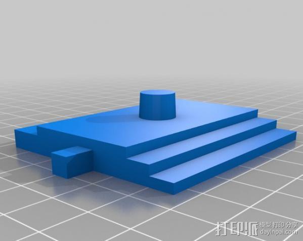 多立克柱式 希腊罗马神殿 3D模型  图9