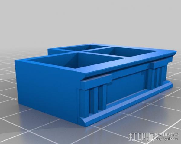 多立克柱式 希腊罗马神殿 3D模型  图14