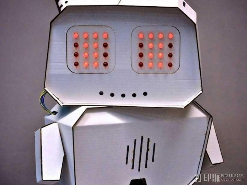 Arduino智能机器人 3D模型  图2