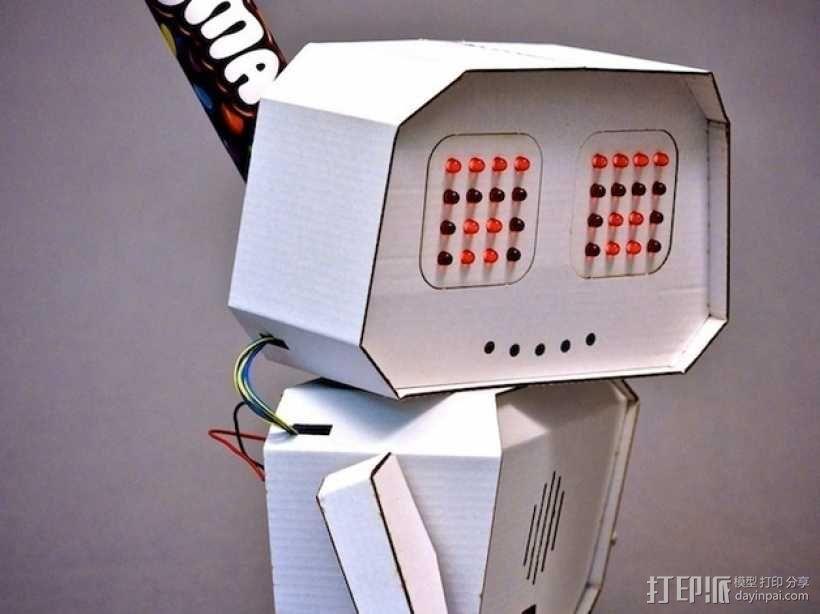 Arduino智能机器人 3D模型  图1