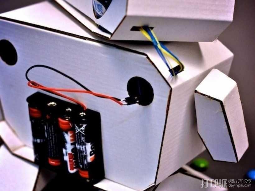 Arduino智能机器人 3D模型  图5
