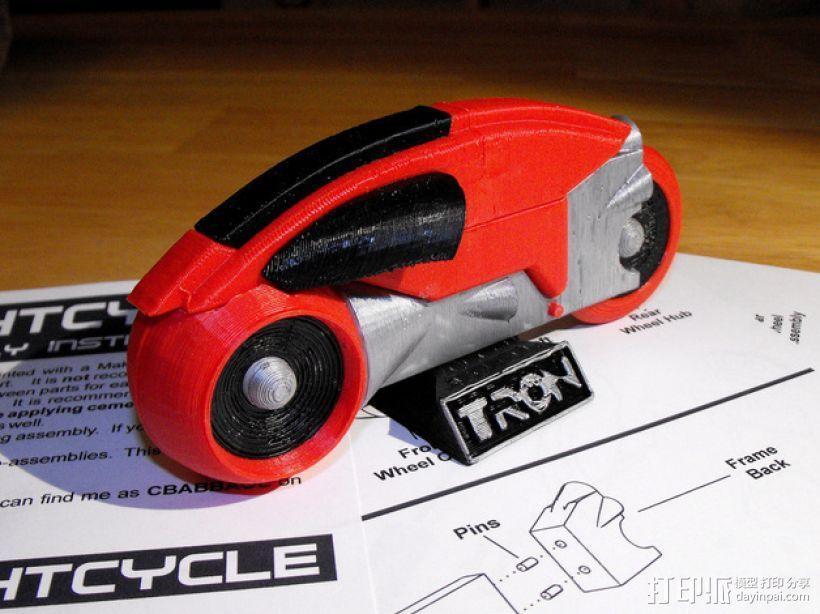 Lightcycle 光速摩托车 3D模型  图8