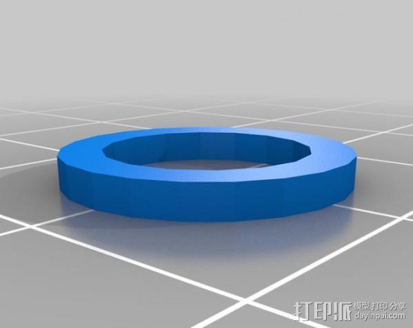 章鱼 玩偶 3D模型  图6