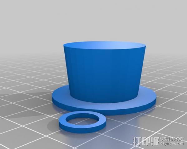 章鱼 玩偶 3D模型  图5