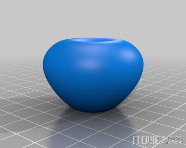 苹果 3D模型  图2