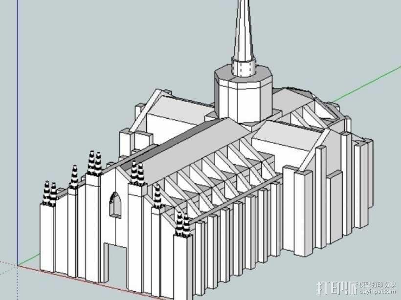 米兰大教堂 3D模型  图5