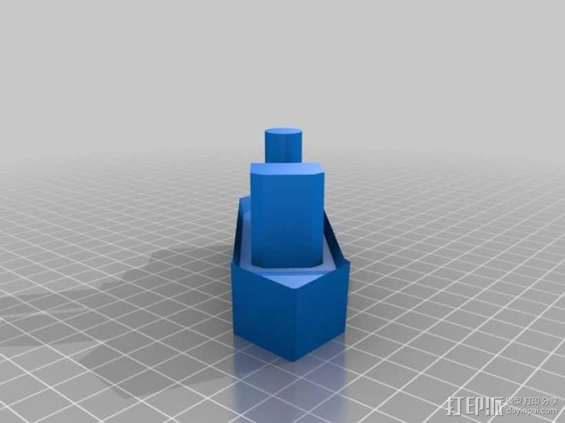 拖船 玩具 3D模型  图3