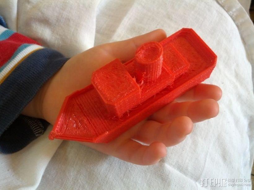 拖船 玩具 3D模型  图1