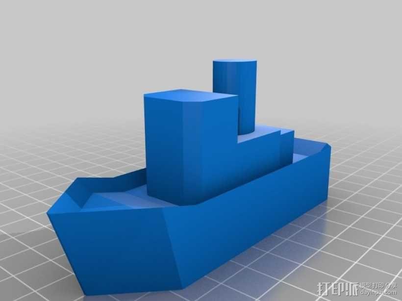 拖船 玩具 3D模型  图2