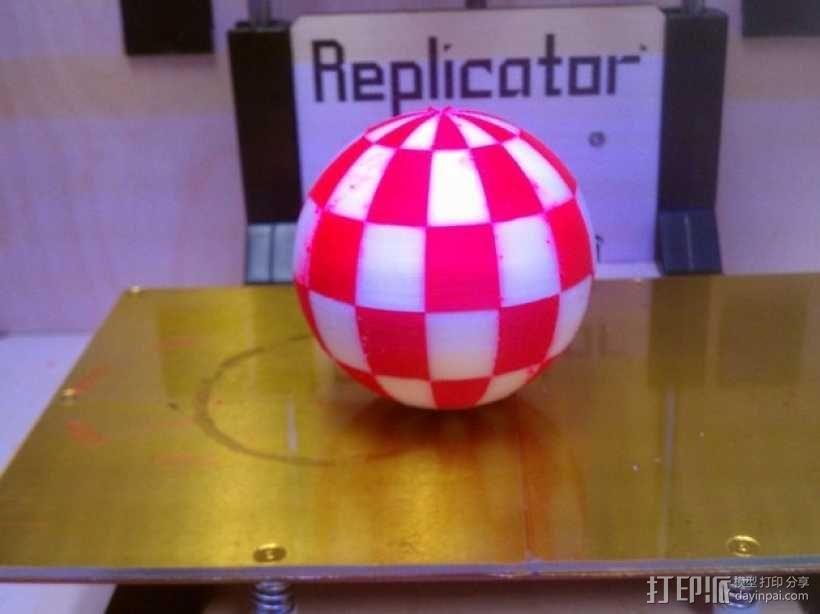 Amiga小球 3D模型  图1