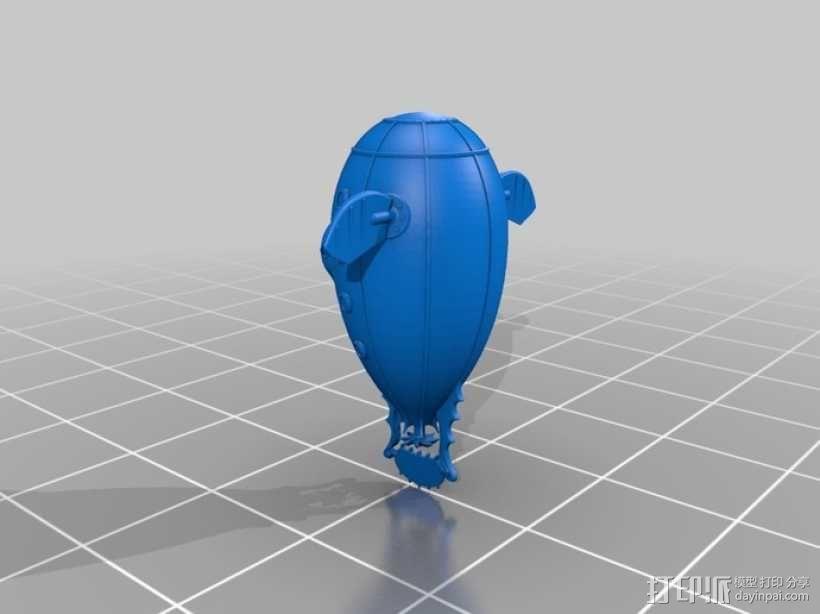 潜水艇 3D模型  图3
