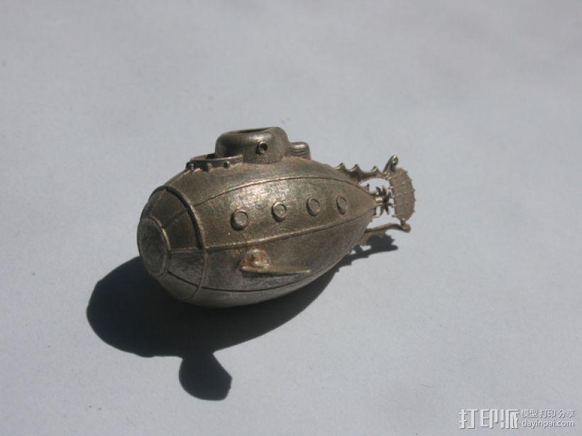 潜水艇 3D模型  图5