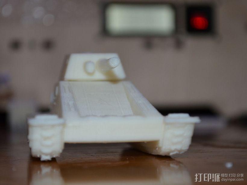 HVY坦克 3D模型  图2