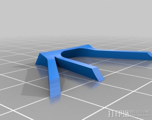 Fairchild 22 飞机 3D模型  图12