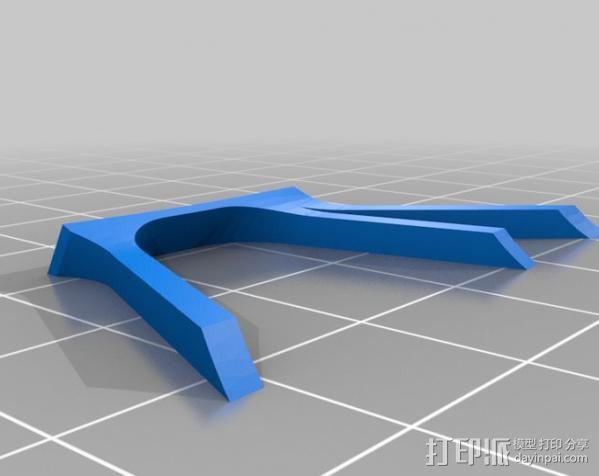 Fairchild 22 飞机 3D模型  图13
