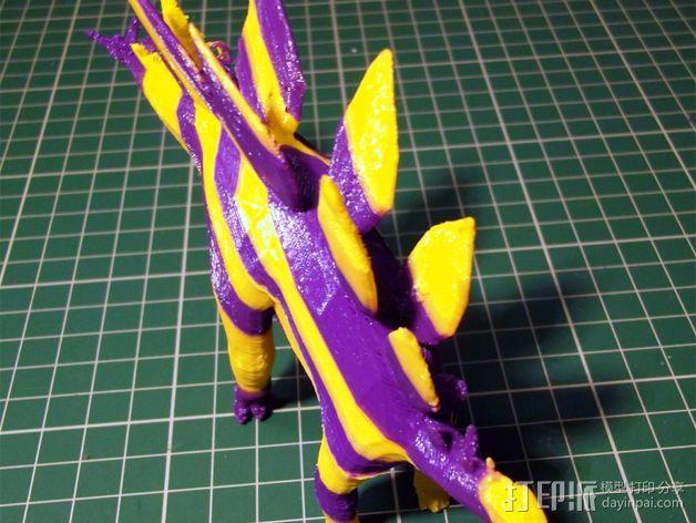 剑龙 3D模型  图5