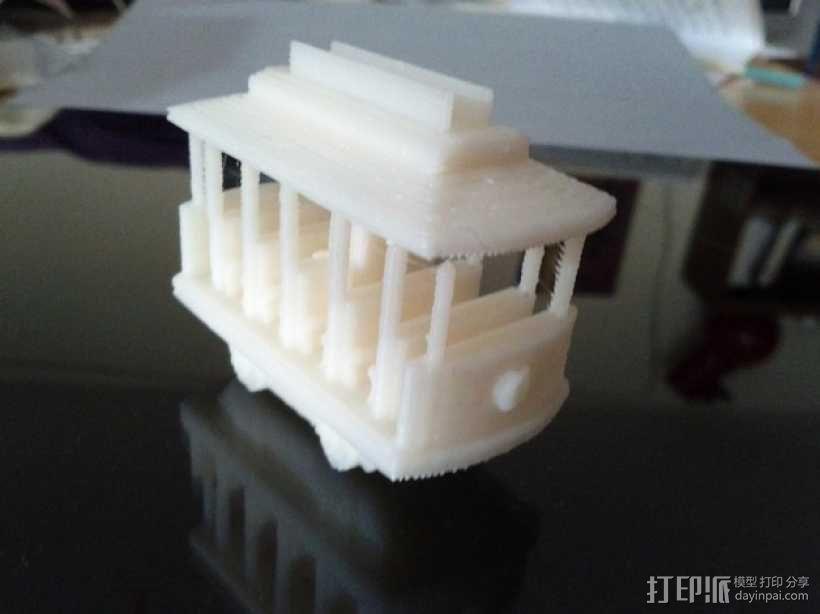 迷你电车 3D模型  图1