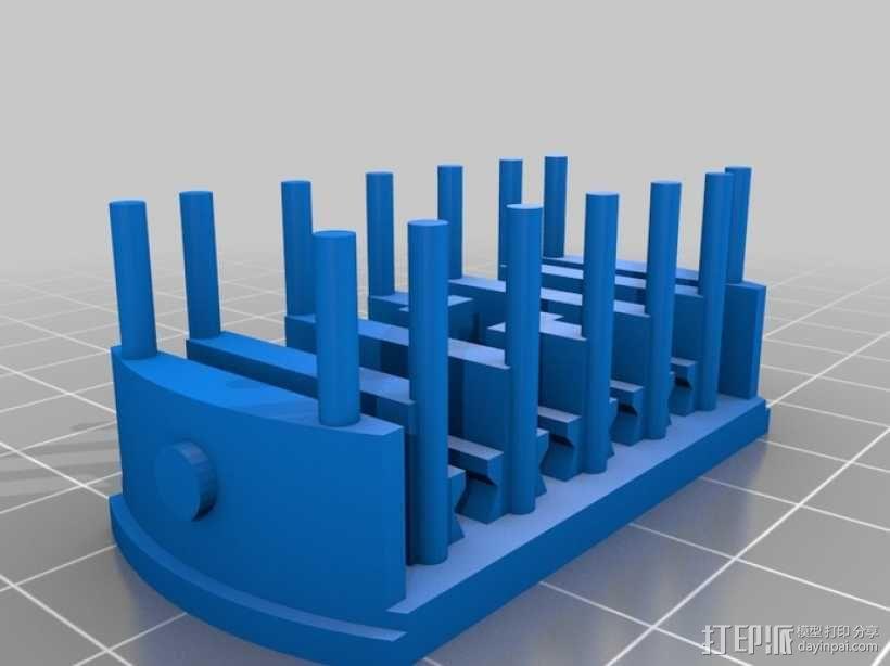 迷你电车 3D模型  图3