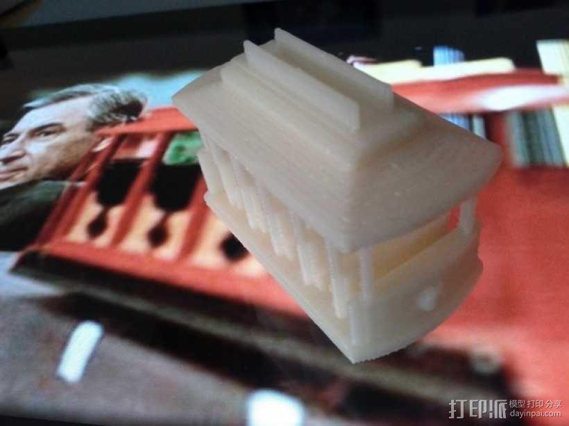迷你电车 3D模型  图2