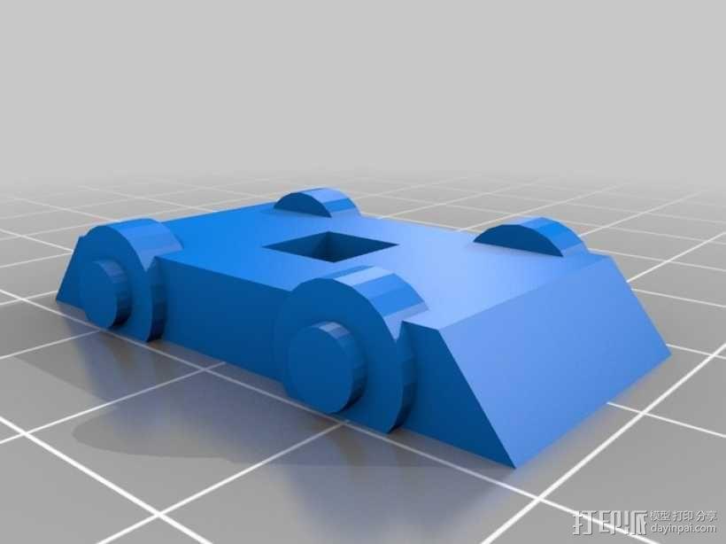 迷你电车 3D模型  图4