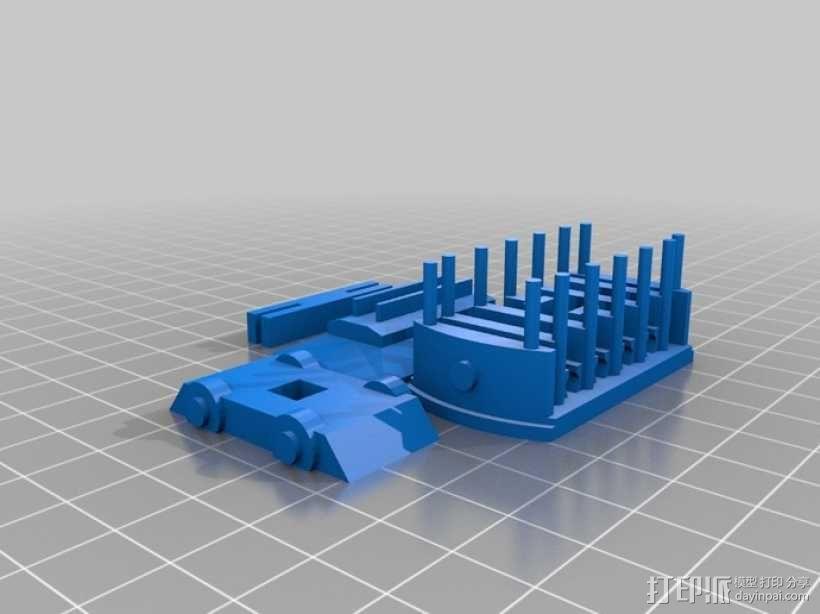 迷你电车 3D模型  图7