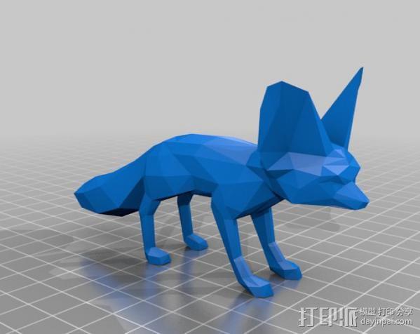 耳廓狐  3D模型  图3