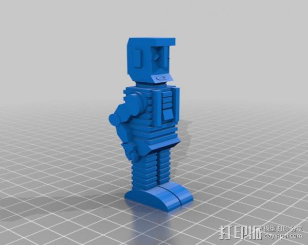 马文 机器人 3D模型  图1