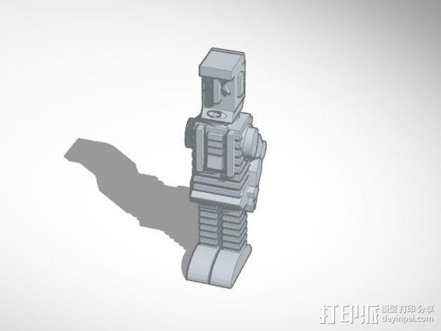 马文 机器人 3D模型  图2