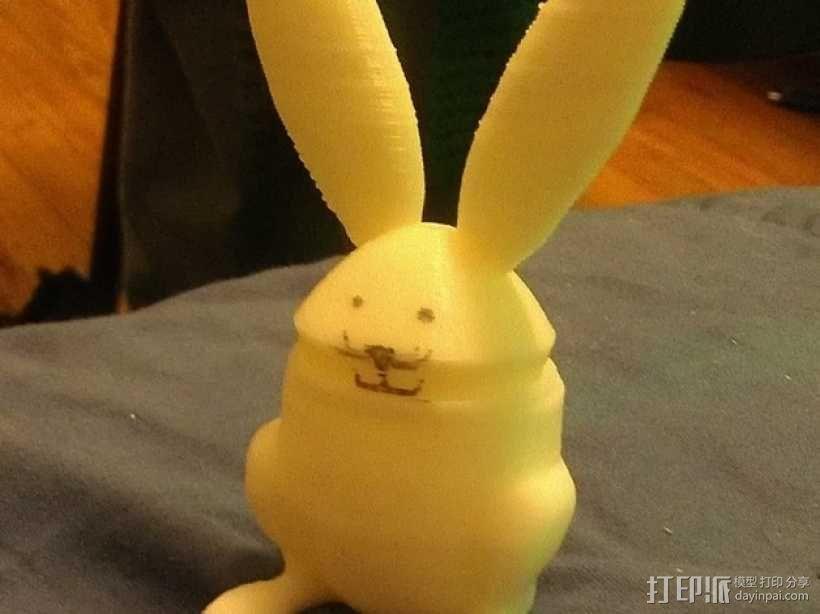 兔子 杯子 3D模型  图2