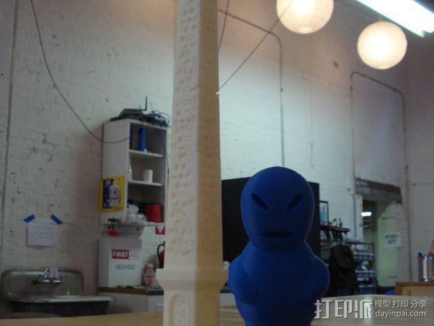 克娄巴特拉方尖碑 3D模型  图1