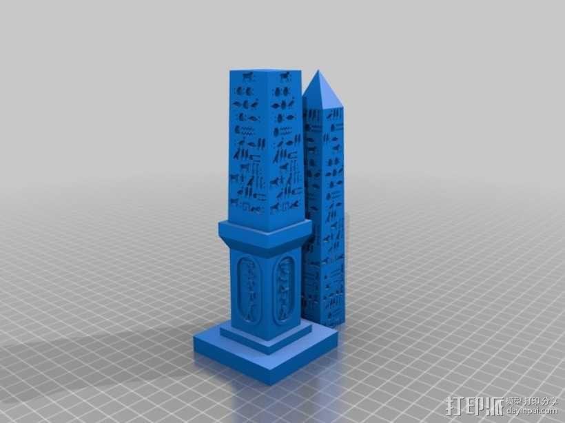 克娄巴特拉方尖碑 3D模型  图3