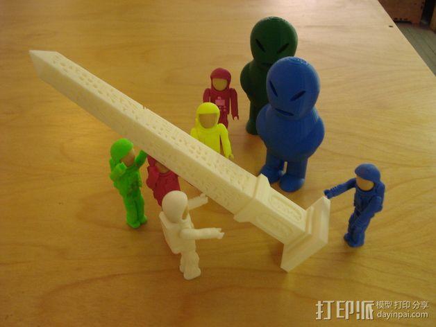 克娄巴特拉方尖碑 3D模型  图5