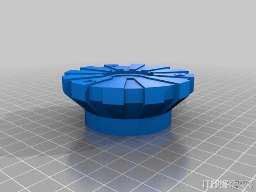 方舟反应炉 3D模型  图3